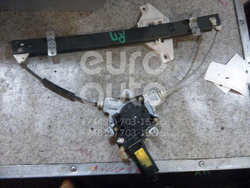 Стеклоподъемник электр. передний правый для Hyundai Accent II (+ТАГАЗ) 2000-2012 - Фото №1