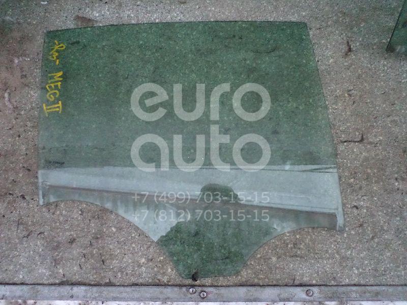 Стекло двери задней правой Renault Megane II 2003-2009; (8200493040)  - купить со скидкой