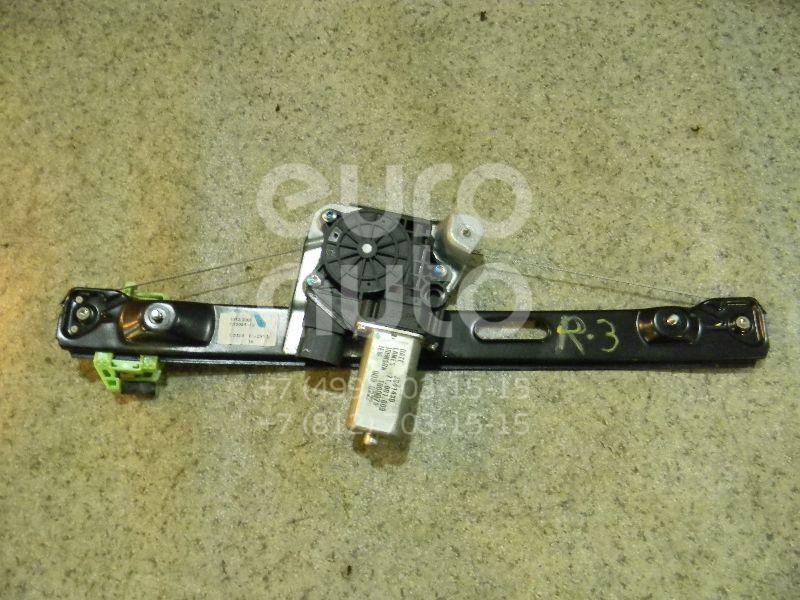 Купить Стеклоподъемник электр. задний правый BMW 3-серия E90/E91 2005-2012; (51357140590)