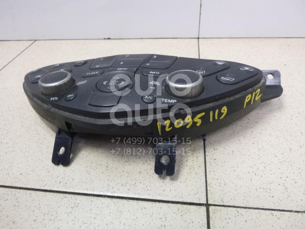 Купить Блок управления климатической установкой Nissan Primera P12E 2002-2007; (28395AV600)