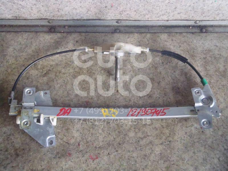 Купить Стеклоподъемник механ. задний правый Mitsubishi Carisma (DA) 1999-2003; (MR100764)