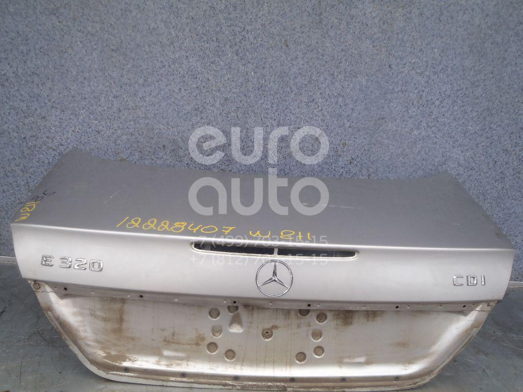 Купить Крышка багажника Mercedes Benz W211 E-Klasse 2002-2009; (2117500375)