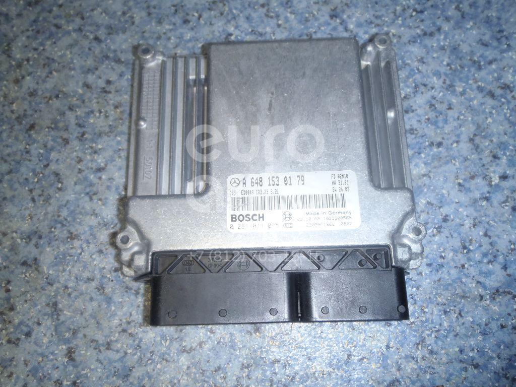 Купить Блок управления двигателем Mercedes Benz W211 E-Klasse 2002-2009; (6481530179)