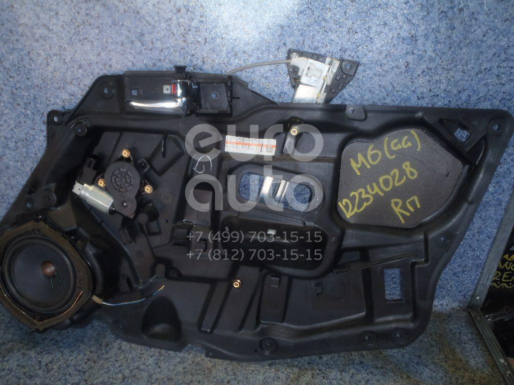 Купить Стеклоподъемник электр. передний правый Mazda Mazda 6 (GG) 2002-2007; (GJ6A58590G)