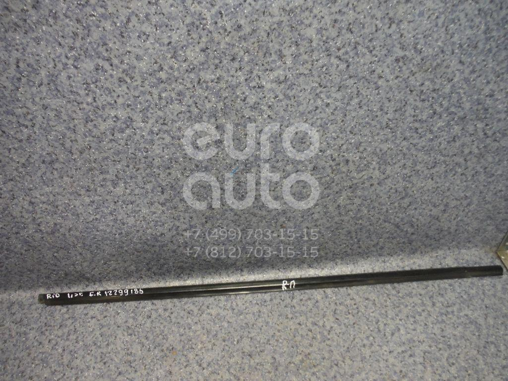 Купить Накладка стекла переднего правого Kia RIO 2011-2017; (822204Y000)