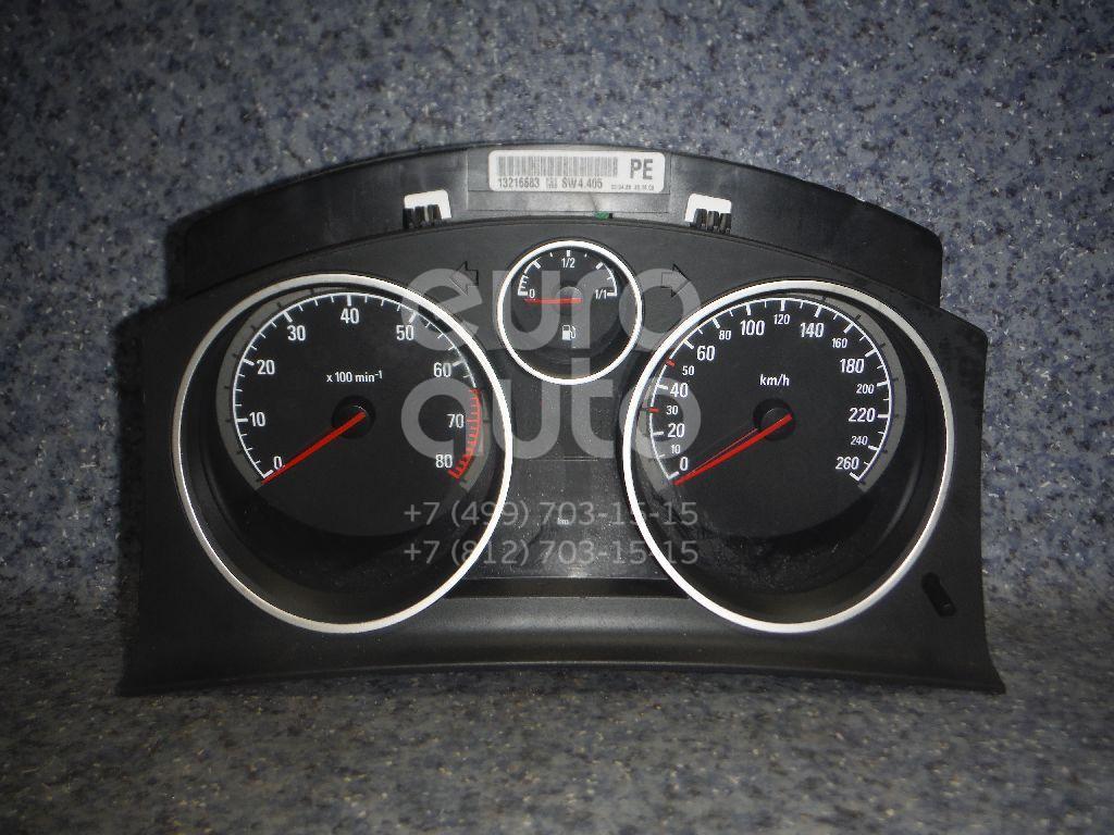 Купить Панель приборов Opel Astra H / Family 2004-2015; (13216659)