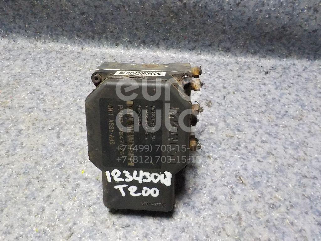Блок ABS (насос) Chevrolet Aveo (T200) 2003-2008; (96470254)  - купить со скидкой
