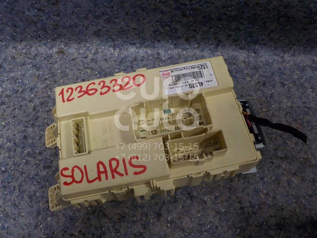 Купить Блок предохранителей Hyundai Solaris 2010-2017; (919504L520)