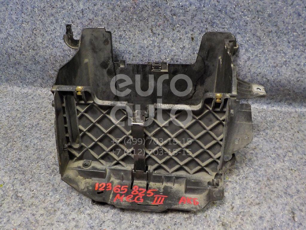 Купить Крепление АКБ (корпус/подставка) Renault Megane III 2009-2016; (244460002R)