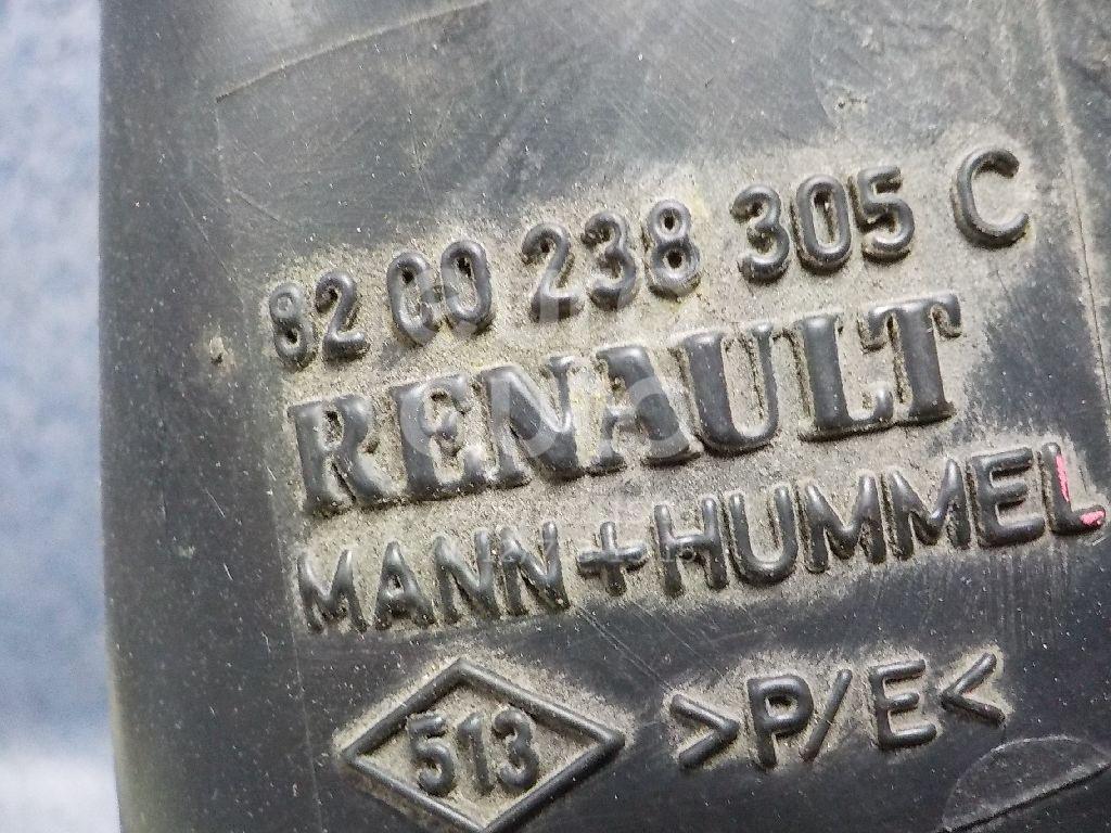 Купить Патрубок воздушного фильтра Renault Logan 2005-2014; (8200238305)