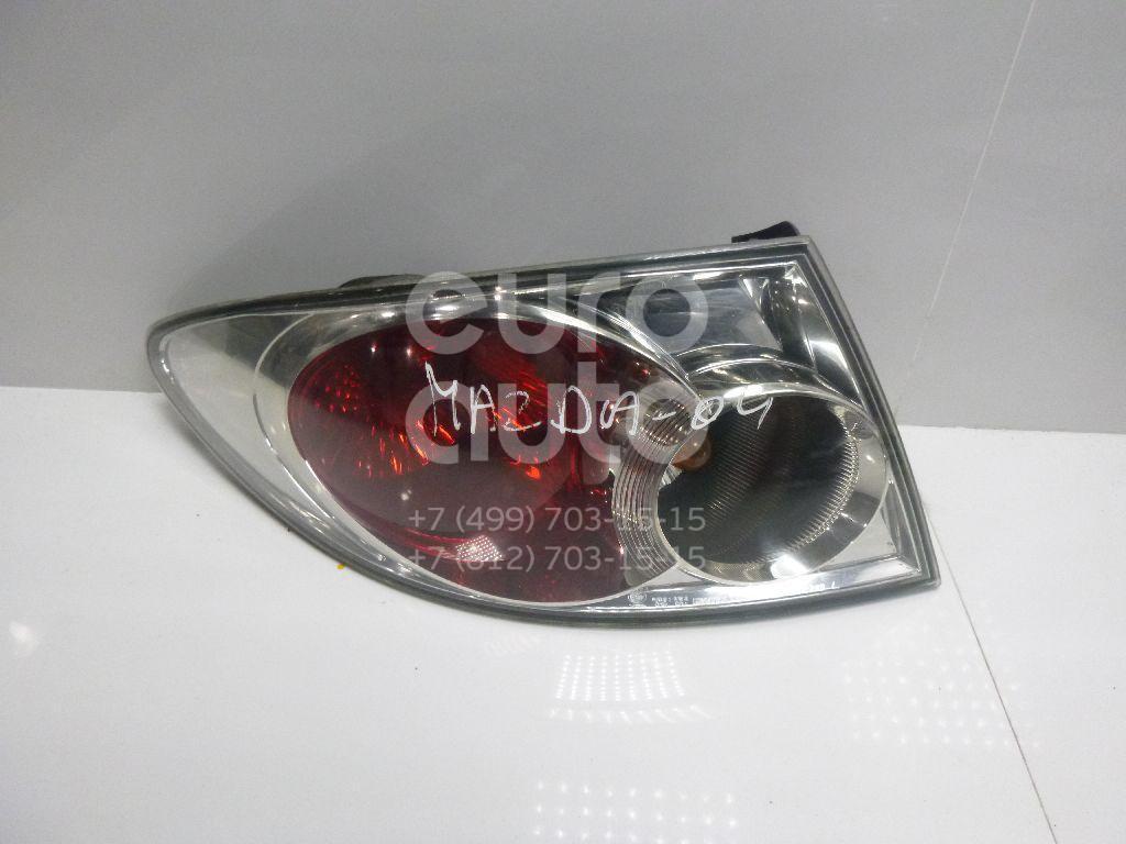 Купить Фонарь задний наружный левый Mazda Mazda 6 (GG) 2002-2007; (GJ6A51160E)
