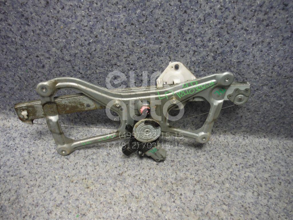 Купить Стеклоподъемник электр. передний левый Honda Civic 4D 2006-2012; (72250SNAA02)