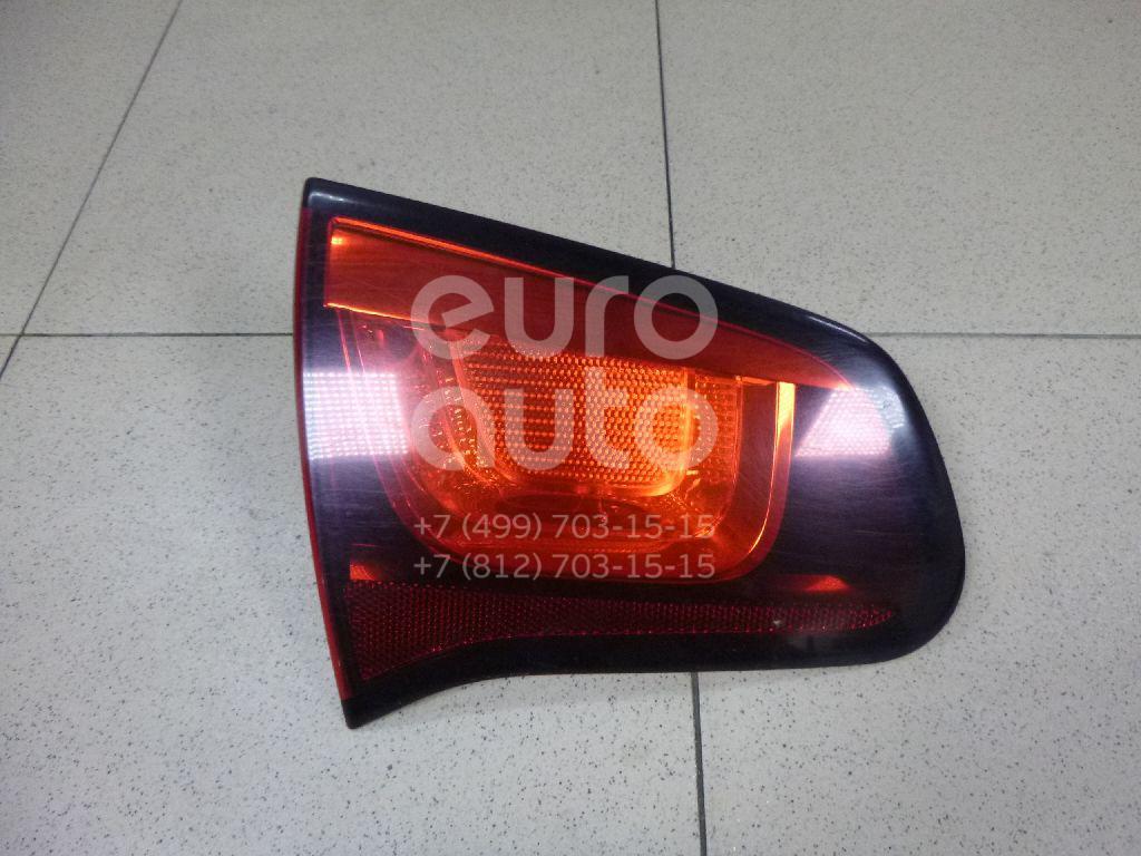 Купить Фонарь задний внутренний левый Citroen C3 2009-2016; (6350JC)