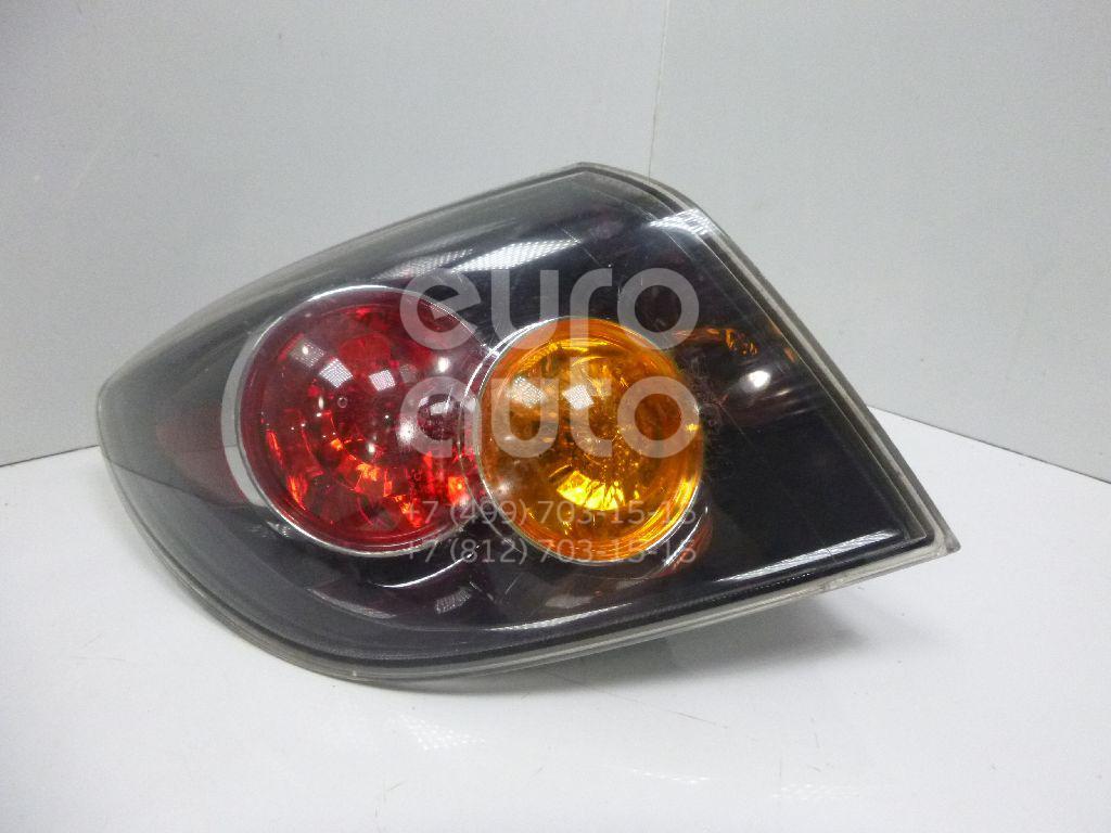 Купить Фонарь задний наружный левый Mazda Mazda 3 (BK) 2002-2009; (BP4L51160D)