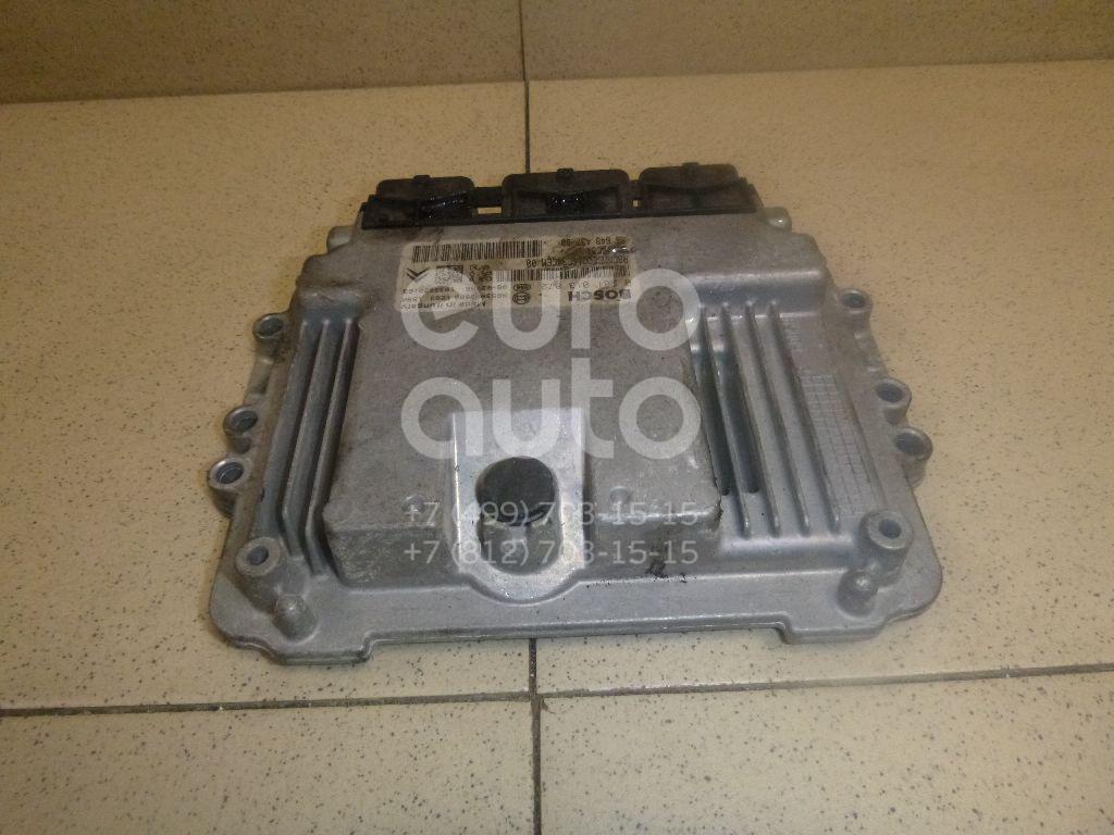 Блок управления двигателем Citroen C4 Picasso 2006-2014; (1943K7)