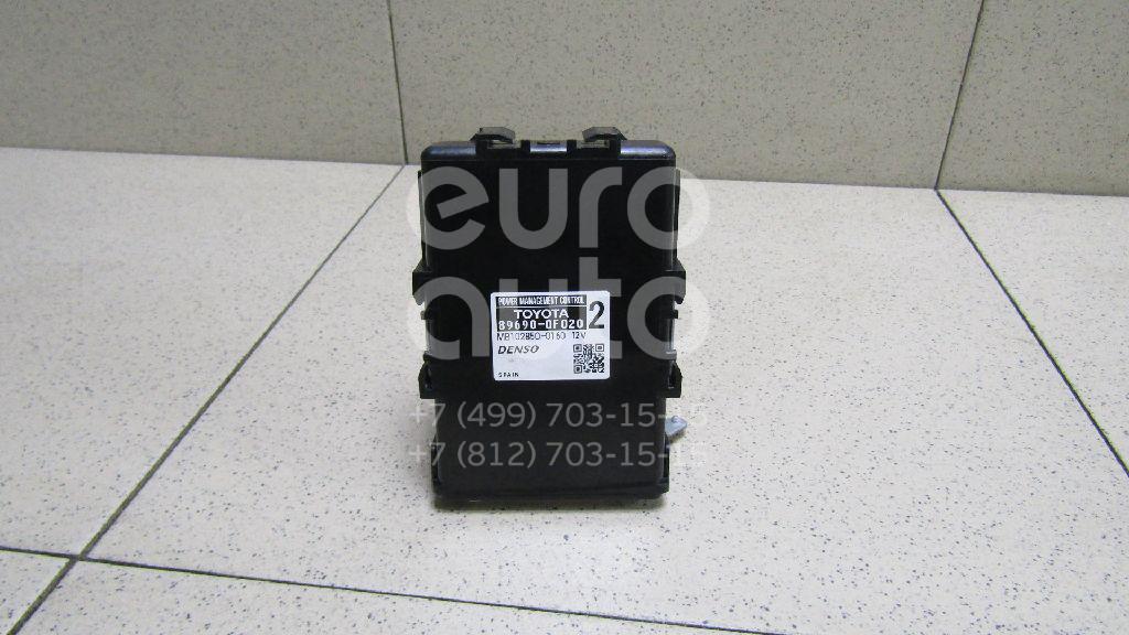 Купить Блок электронный Toyota Verso 2009-; (896900F020)