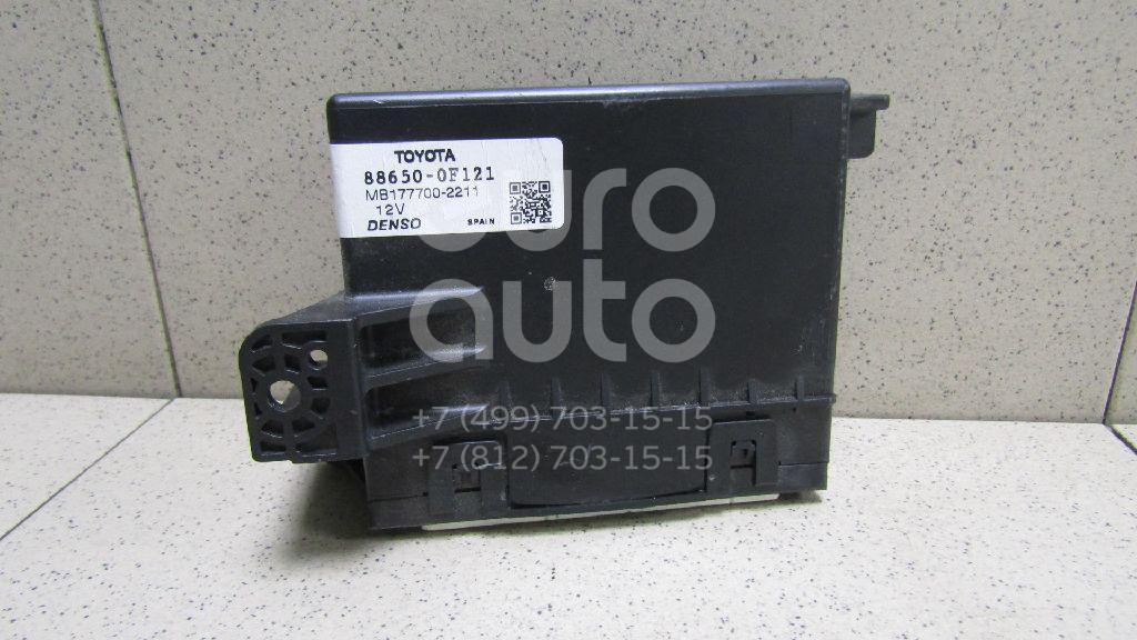 Купить Блок электронный Toyota Verso 2009-; (886500F121)
