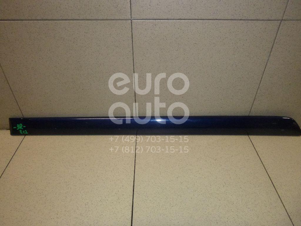 Купить Молдинг задней правой двери Toyota Corolla E12 2001-2007; (7574102130)