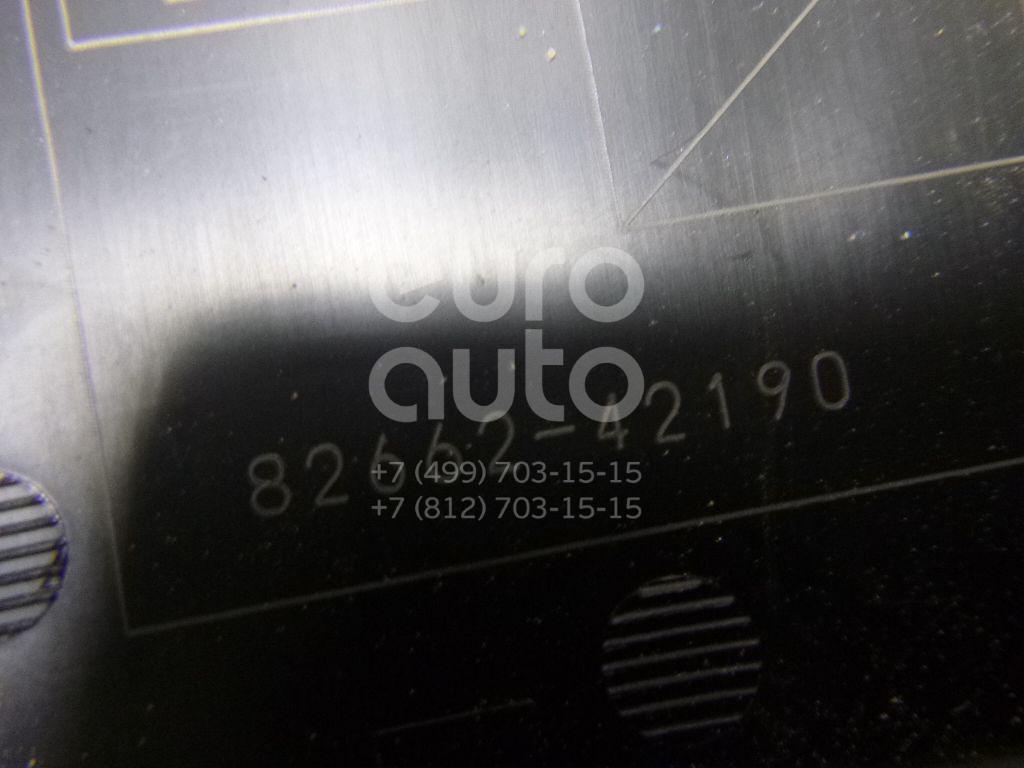 Купить Крышка блока предохранителей Toyota RAV 4 2006-2013; (8266242190)