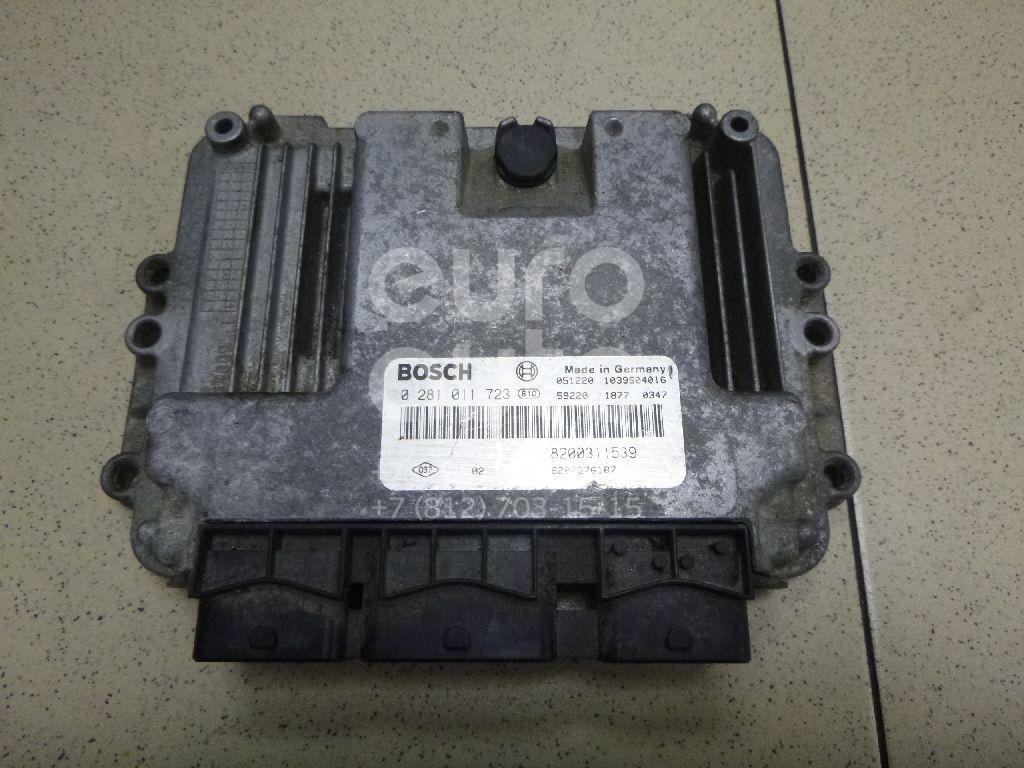 Купить Блок управления двигателем Renault Espace IV 2002-2014; (8200470952)