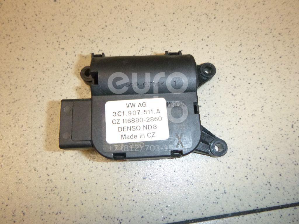 Купить Моторчик заслонки отопителя VW Passat CC 2008-; (3C1907511A)
