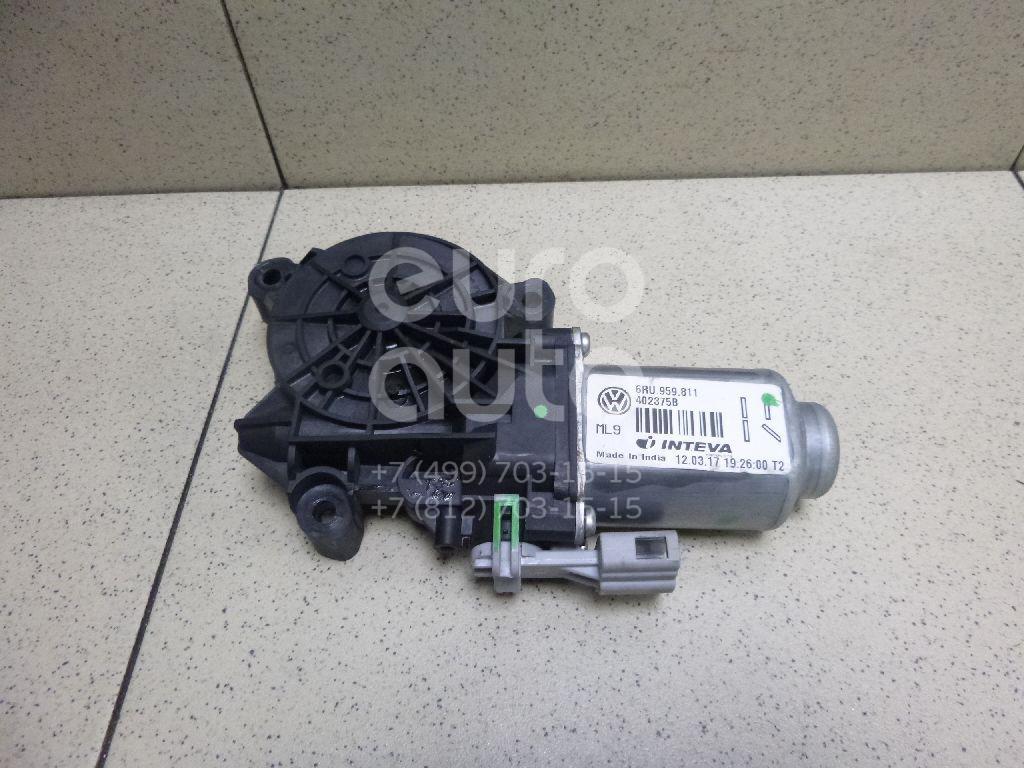 Купить Моторчик стеклоподъемника VW Polo (Sed RUS) 2011-; (6RU959811)