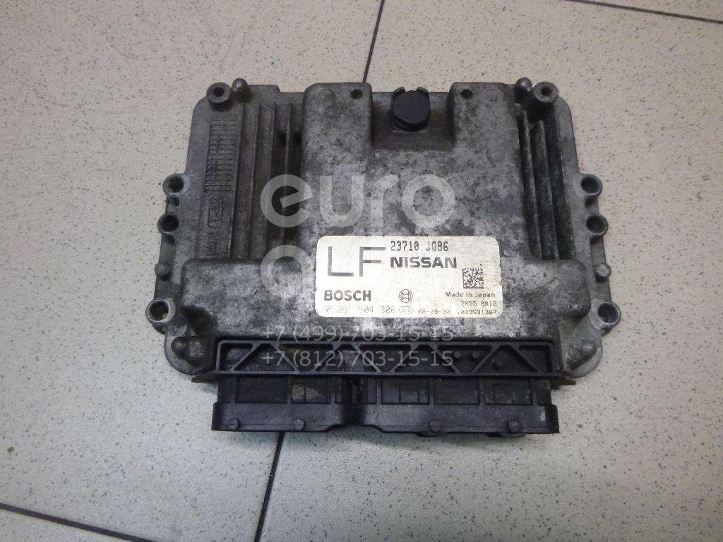 Блок управления двигателем Nissan X-Trail (T31) 2007-2014; (23710JG86B)  - купить со скидкой