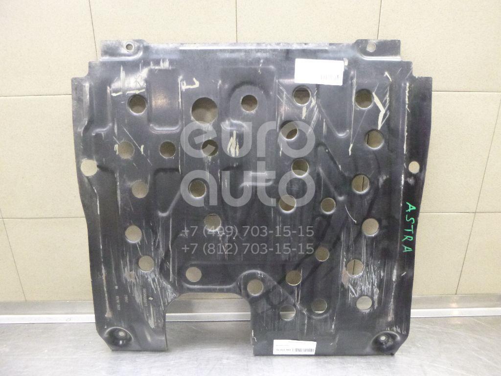 Защита картера Opel Astra J 2010-; (13266389)  - купить со скидкой