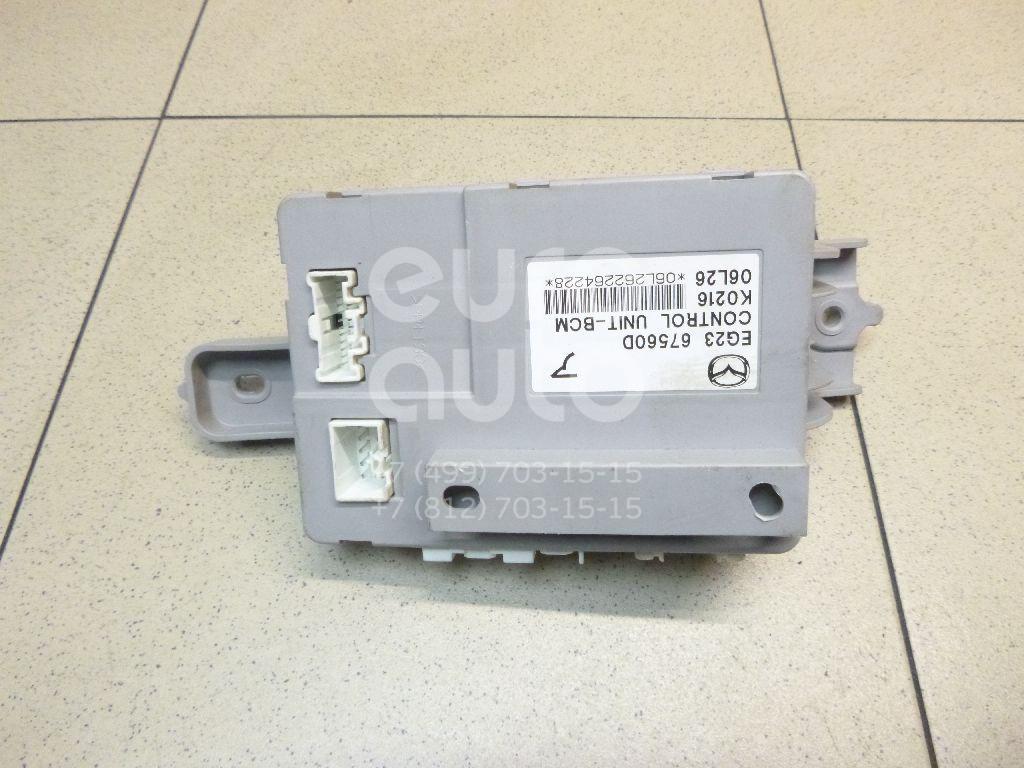 Купить Блок комфорта Mazda CX 7 2007-2012; (EG2367560D)