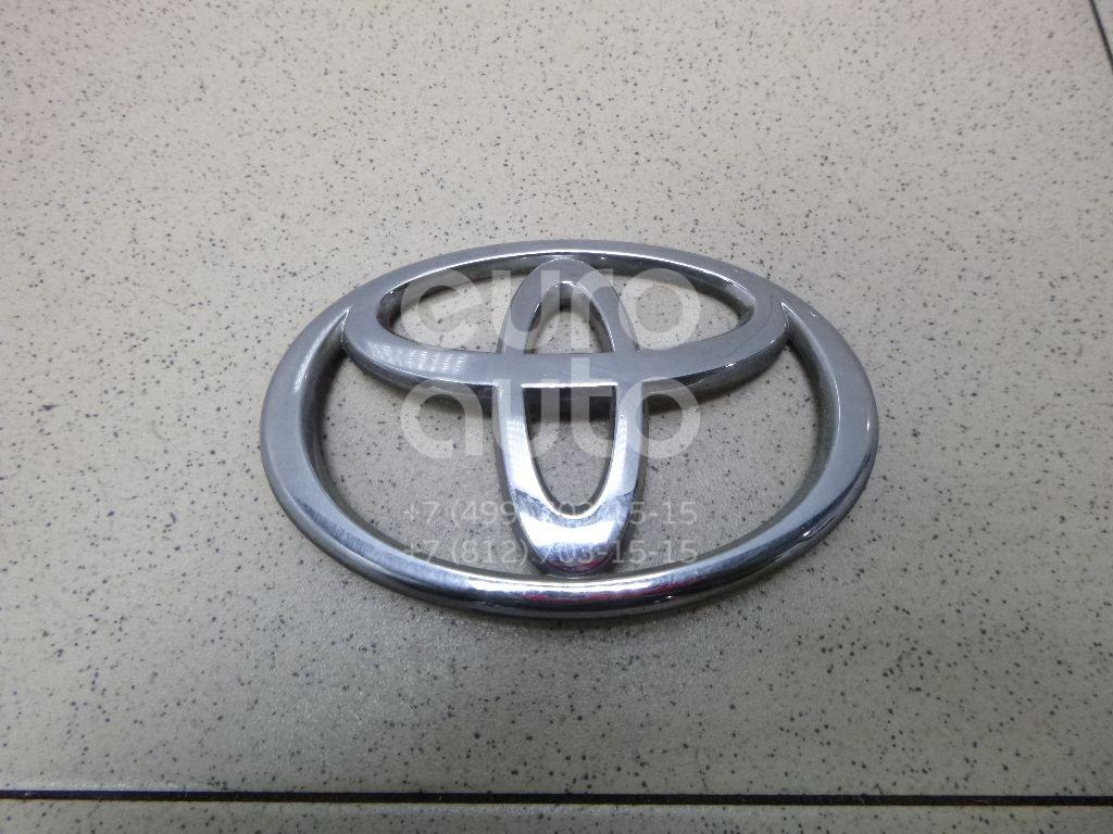 Купить Эмблема на крышку багажника Toyota Avensis II 2003-2008; (7543105050)