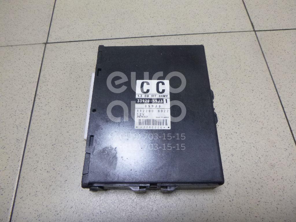 Купить Блок управления двигателем Suzuki Liana 2001-2007; (3392059J31)