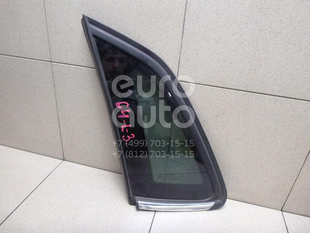 Купить Стекло кузовное глухое левое Citroen C4 II 2011-; (856804)