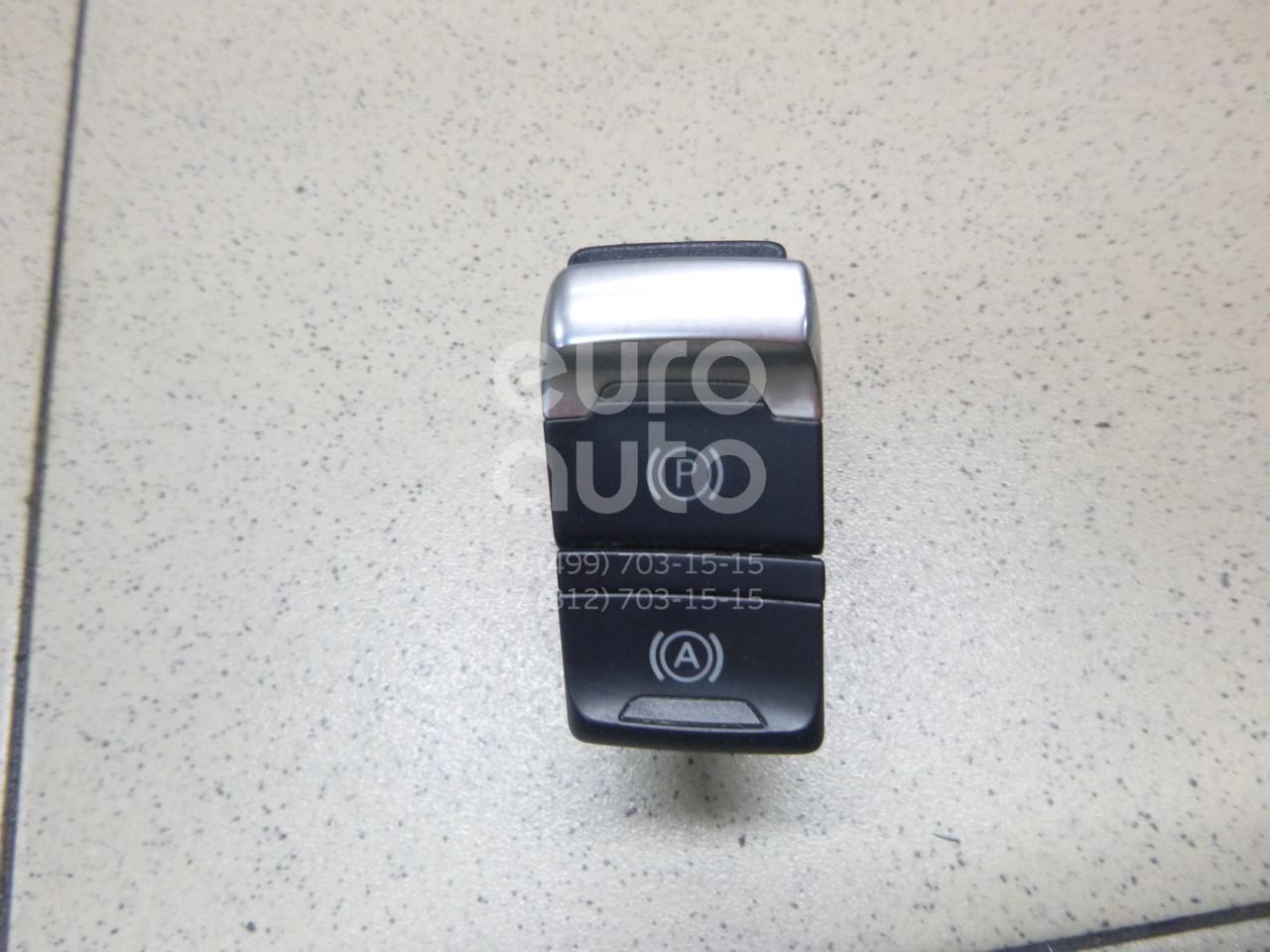 Купить Кнопка фиксатора стояночного тормоза Audi A5/S5 [8T] Coupe/Sportback 2008-2016; (8K1927225CWEP)