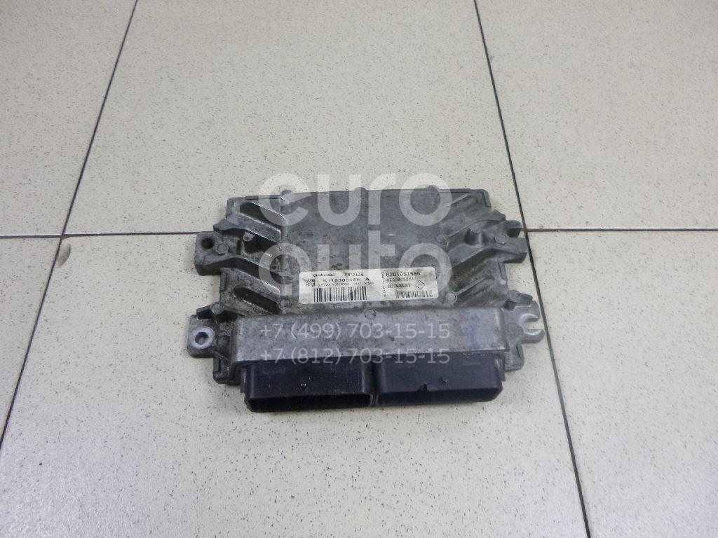 Купить Блок управления двигателем Renault Sandero 2009-2014; (8201051558)