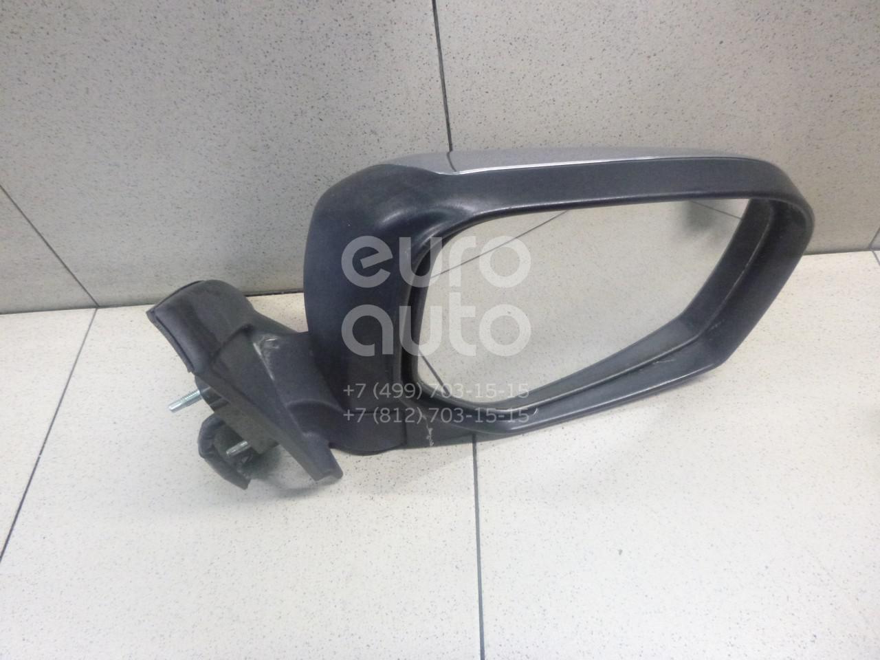 Схема бокового зеркала l200