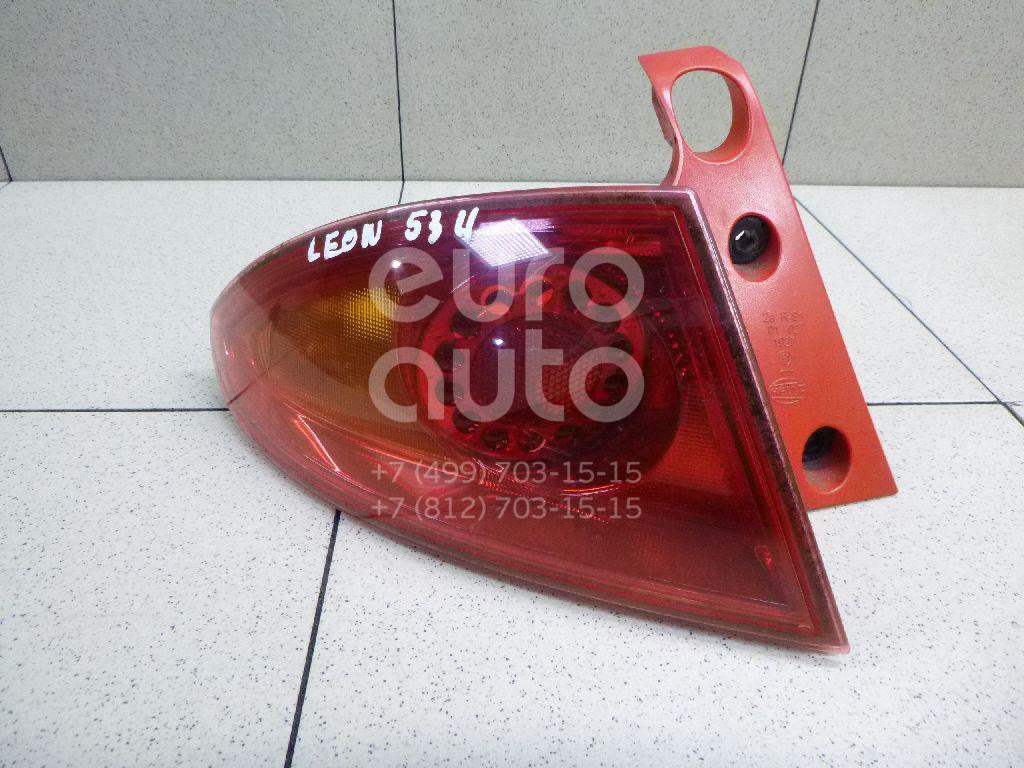 Купить Фонарь задний наружный левый Seat Leon (1P1) 2005-2013; (1P0945111C)