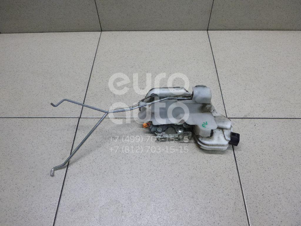 Купить Замок двери передней левой Mitsubishi Pajero/Montero IV (V8, V9) 2007-; (MR512235)