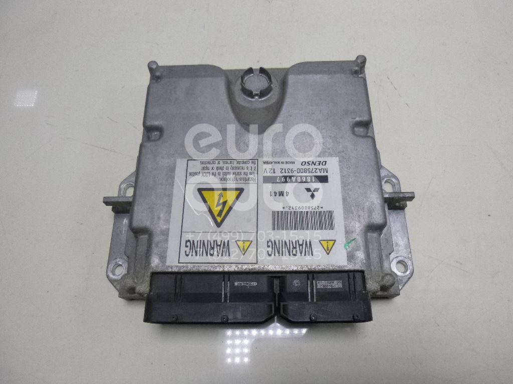 Купить Блок управления двигателем Mitsubishi Pajero/Montero Sport (KH) 2008-2015; (1860A997)