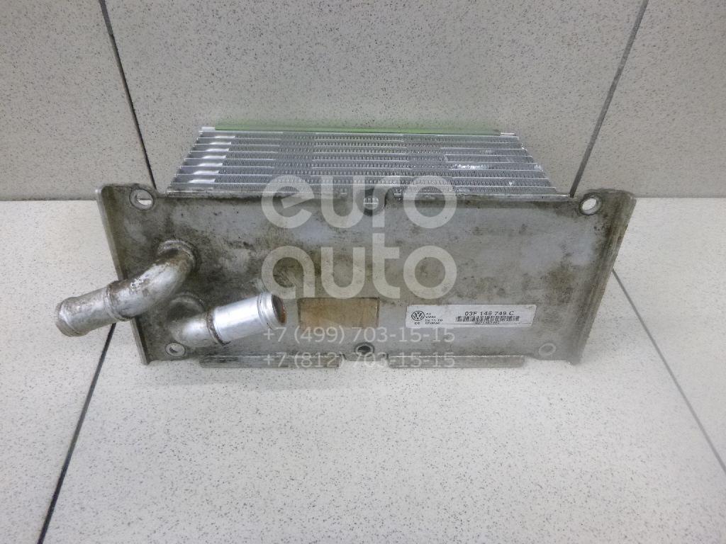 Интеркулер VW Golf VI 2009-2013; (03F145749C)  - купить со скидкой