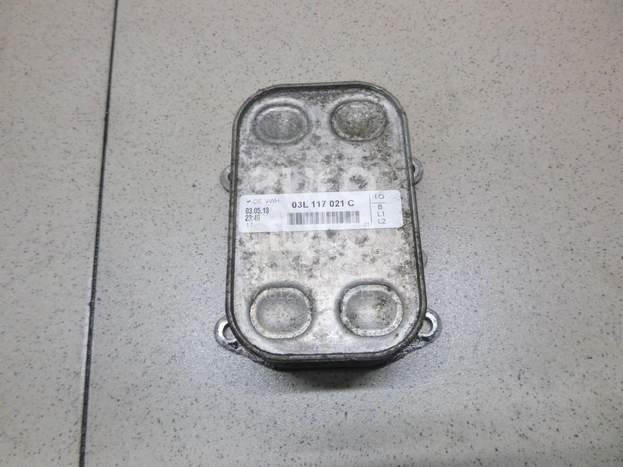 Купить Радиатор масляный VW Passat [B7] 2011-2015; (03L117021C)