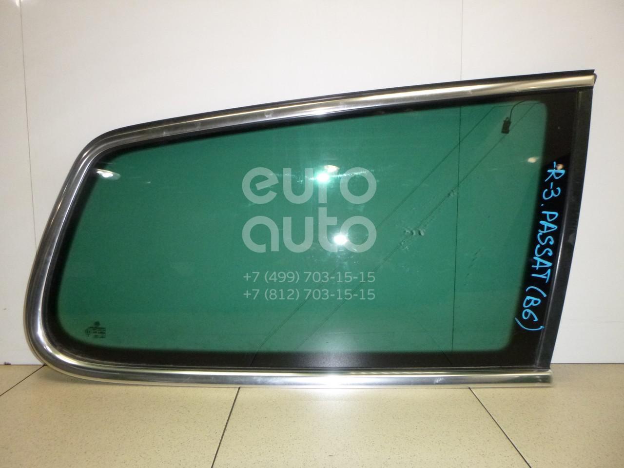 Купить Стекло кузовное глухое правое VW Passat [B6] 2005-2010; (3C9845298APVNH)