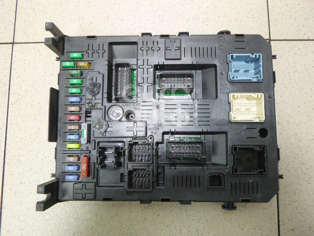 Купить Блок предохранителей Citroen C4 2005-2011; (6580ZG)