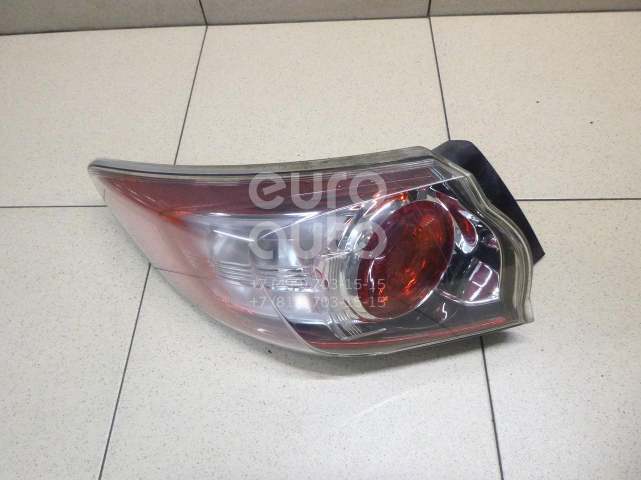 Купить Фонарь задний наружный левый Mazda Mazda 3 (BL) 2009-2013; (BBN751160)