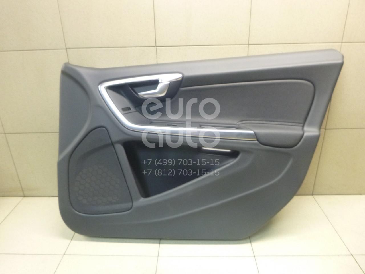Купить Обшивка двери передней правой Volvo S60 2010-; (39817554)