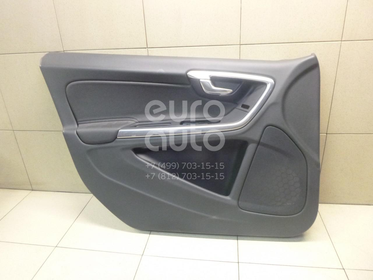 Купить Обшивка двери передней левой Volvo S60 2010-; (39817548)