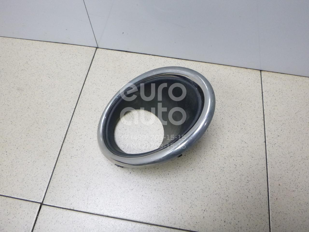 Купить Рамка противотуманной фары левой Nissan Qashqai (J11) 2014-; (622574EM0A)