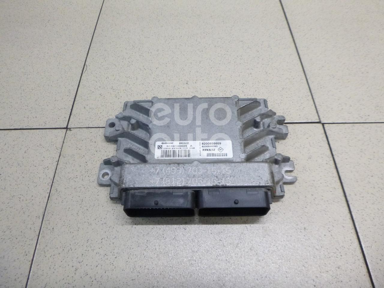 Купить Блок управления двигателем Renault Sandero 2009-2014; (8200856659)