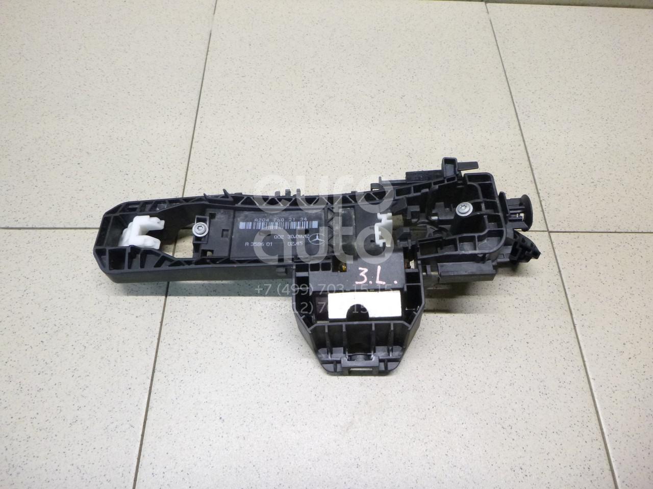 Купить Кронштейн ручки Mercedes Benz GLK-Class X204 2008-2015; (2047602534)