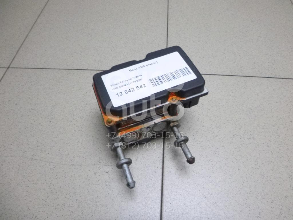 Купить Блок ABS (насос) Skoda Fabia 2007-2015; (6R0614117KBEF)