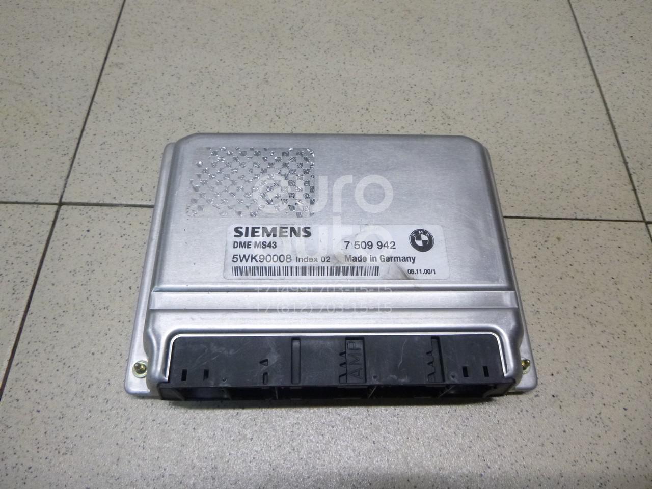 Купить Блок управления двигателем BMW 5-серия E39 1995-2003; (12147509942)